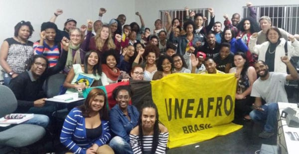 Brazil unions are partnering with a range of organizations with common goals. Credit: Courtney Jenkins