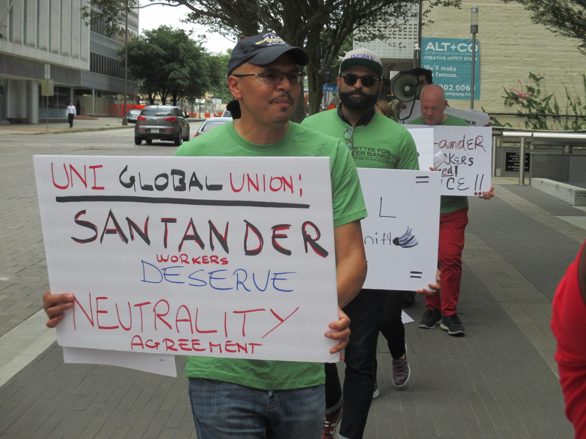 Worker and Consumer Groups to Santander: You're On Notice