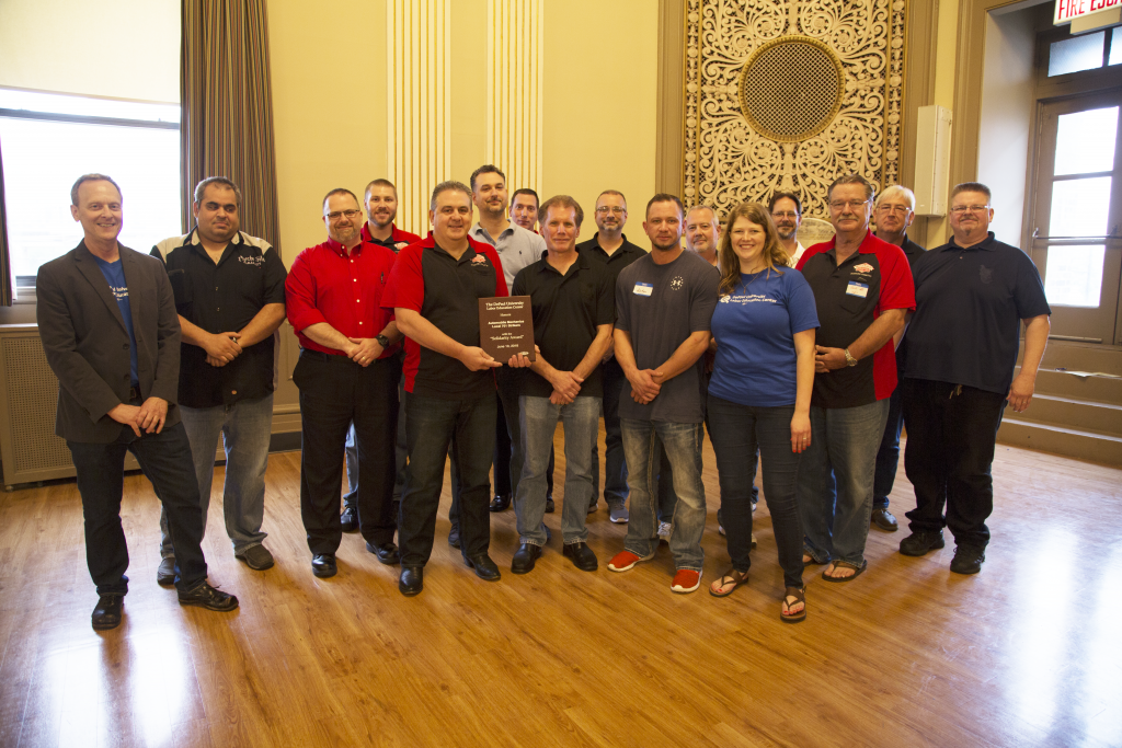 IAM Local 701 Auto Mechanics Receive 'Solidarity Award' for 2017 Industry-Leading Strike