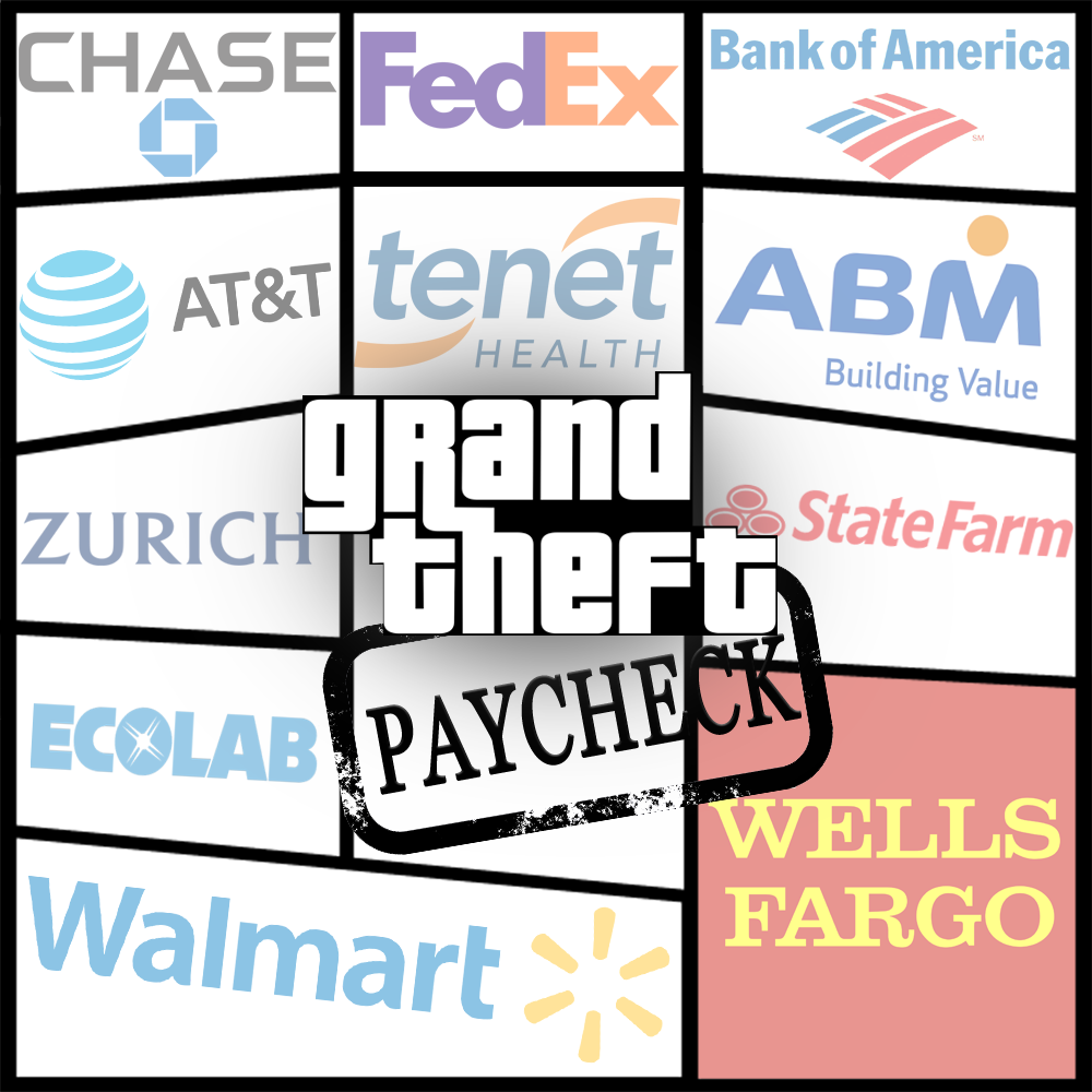 Grand Theft Paycheck: How Big Corporations Shortchange Their Workers