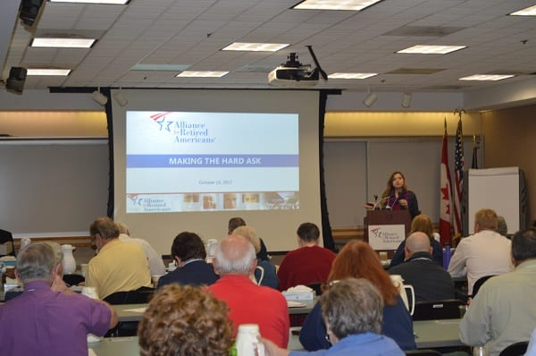 Alliance members learn how to mobilize volunteers