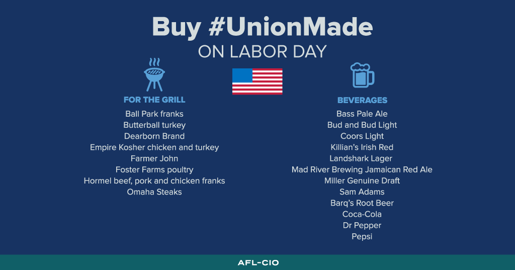 Union-Made Labor Day