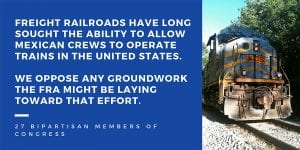 TTD: Freight rail safety, jobs must not be jeopardized in pursuit of profits