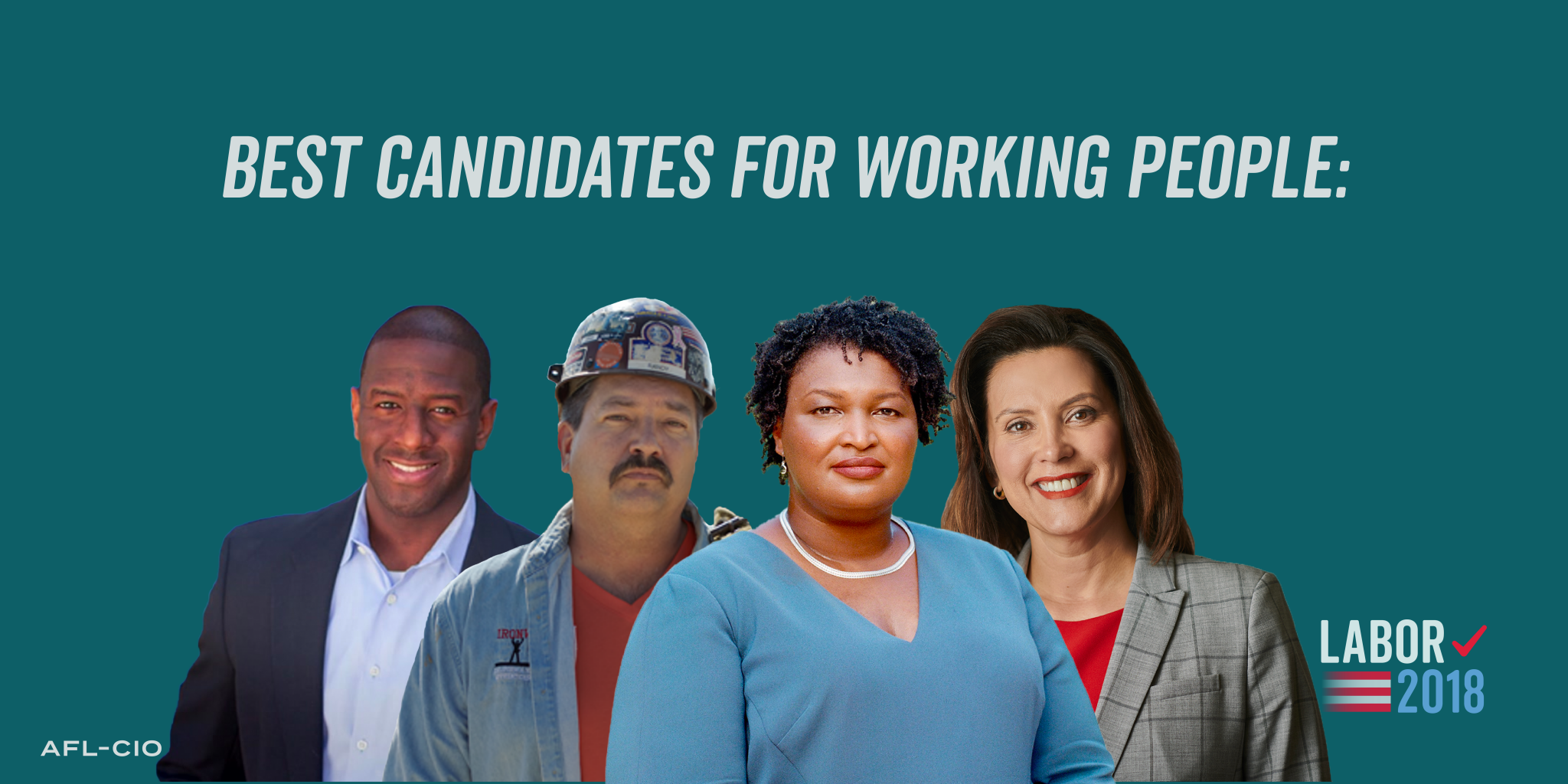 Best Candidates for Working People, 2018