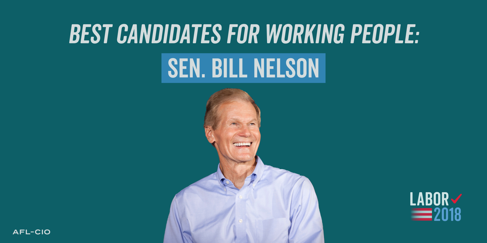 Best Candidates for Working People, 2018: Bill Nelson