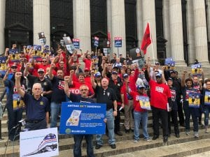 ASWC: Amtrak Workers, Riders, Union Leaders Blast Proposed Plan to Slash Jobs and Service