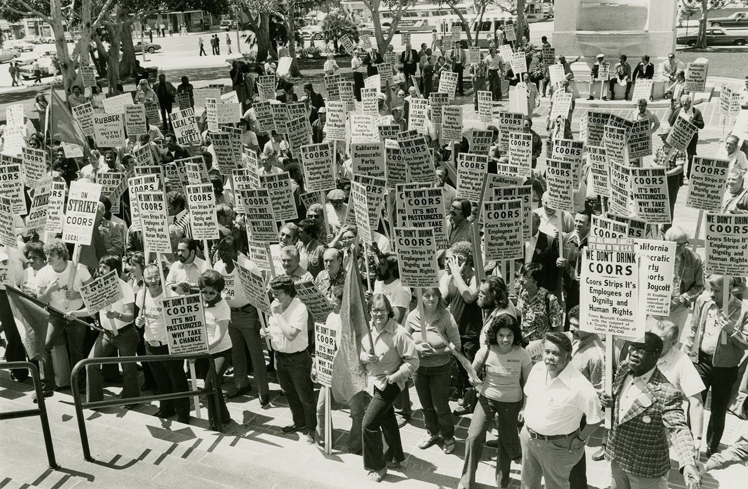 Coors protests